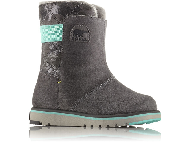 Sorel Rylee Boots Youth Quarry/Dolphin